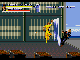 Romhacking net - Hacks - SOR3 - Bruce Lee in Game of Death