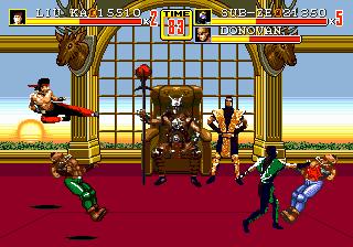 Romhacking net - Hacks - Streets of Rage 2: Mortal Kombat CX
