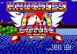 Romhacking net - Hacks - Knuckles in Sonic 1