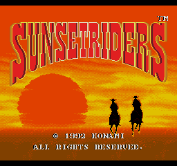 Sunset Riders - Enhanced Colors
