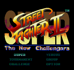 Super Street Fighter II - Enhanced Colors