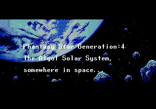 Phantasy Star Generation: 4 - A Relocalization