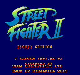 Street Fighter II - Bloody Edition