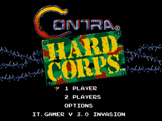 Contra: Hard Corps - INVASION v3.1