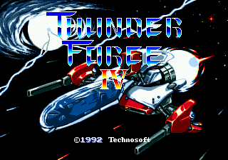 Thunder Force IV - PAL to NTSC-U Region Fix
