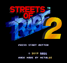 Streets of Rage 2: captain commando edition