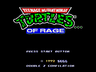Teenage Mutant Ninja Turtles... of Rage