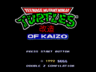 Teenage Mutant Ninja Turtles of Kaizo