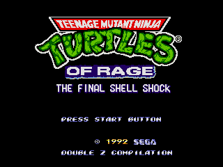 TMNT of Rage - The Final Shell Shock & Re-Shelled