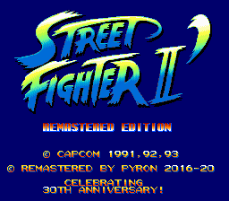 Street Fighter 2 Remastered Edition
