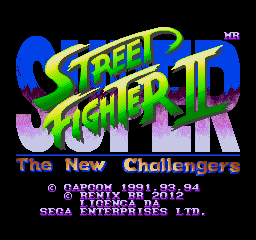 Super Street Fighter II Remix Edition By BlastoBR