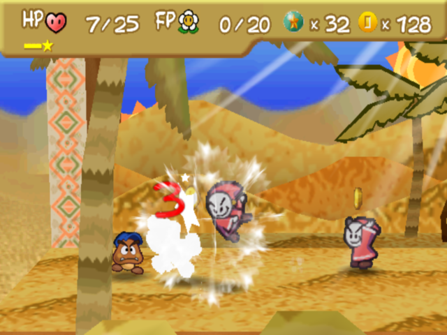 Paper Mario hard mode and more enemy HP