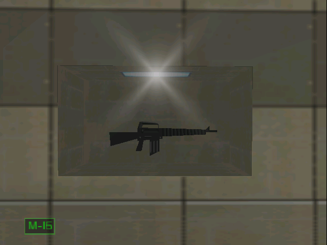 CI Firing Range GoldenEye Gun Name Display