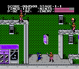 Ninja Gaiden - Virgin Edition