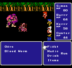 Final Fantasy Font Options