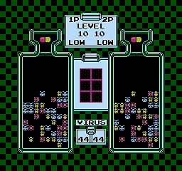 Dr. Mario - 2 Players Inverse Hack