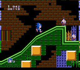 Romhacking net - Hacks - Sonic The Hedgehog (NES