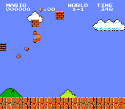 Super Mario Bros. Vertical Balls Enable