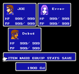 Final Fantasy II EasyType