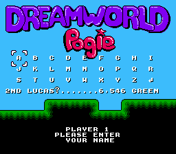 Dream World Pogie Revival