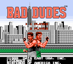 Bad Dudes Facelift