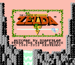 The Legend of Zelda - Font Mod (+ Retranslation)
