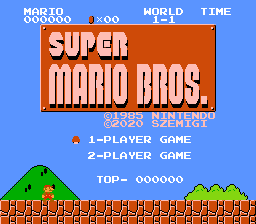 Super Mario Bros. NES - PAL Revision B