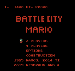 Battle City Mario (4 players)