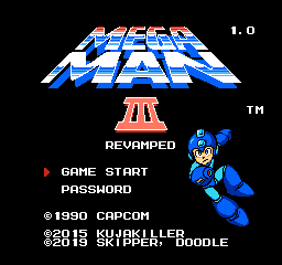 Mega Man 3 Revamped