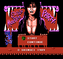 Elvira's Monster Party