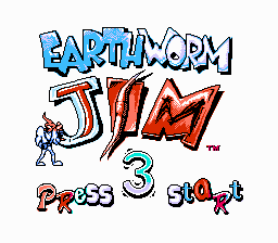 Earth Worm Jim 3 ENHANCED COLOR