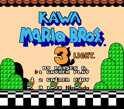 Kawa Mario Bros 3 Light