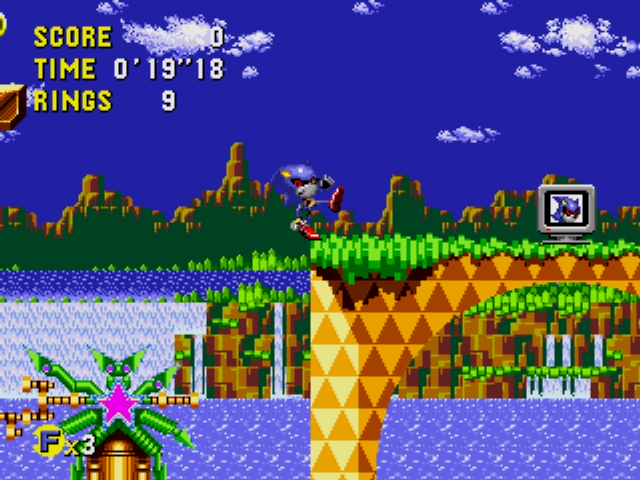 Metal Sonic in Sonic CD 2011 (Playable)