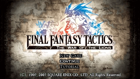 Final Fantasy Tactics - War of the Lions Tweak