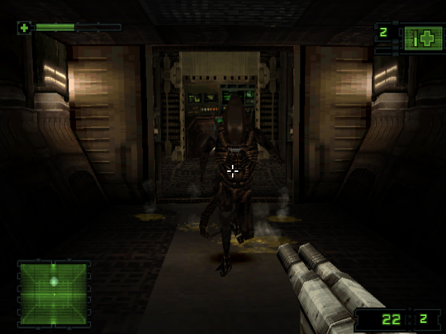 Alien Resurrection:  New control buttons config
