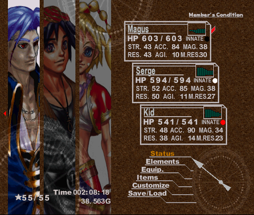 Chrono Cross: Magus Unmasked