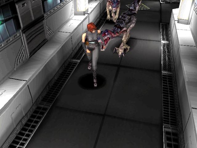 Romhacking net - Hacks - Dino Crisis: Control modification