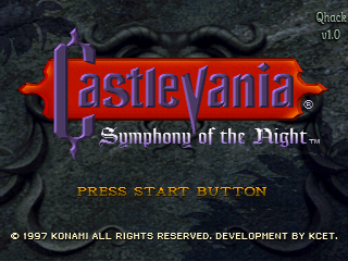 Castlevania: Symphony of the Night - Quality hack