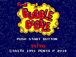 Bubble Bobble Improvement