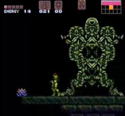 Super Metroid - Cliffhanger