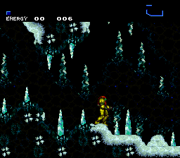 Super Metroid - Snow Globe