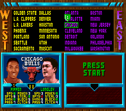 NBA Jam: Tournament Edition Roster Mod