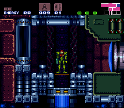 Romhacking net - Hacks - Super Metroid: Redesign