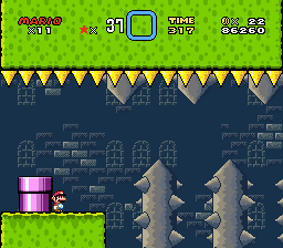 Super Mario World - Master Quest 1