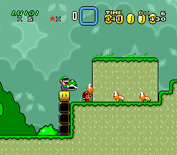 Super Luigi World - Luigi's Quest