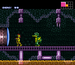 Super Metroid - Inverted