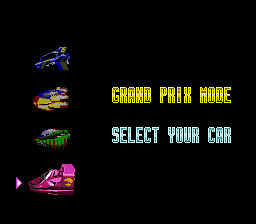 F-Zero Original Ace Cars