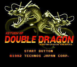 Return of Double Dragon Music Fix