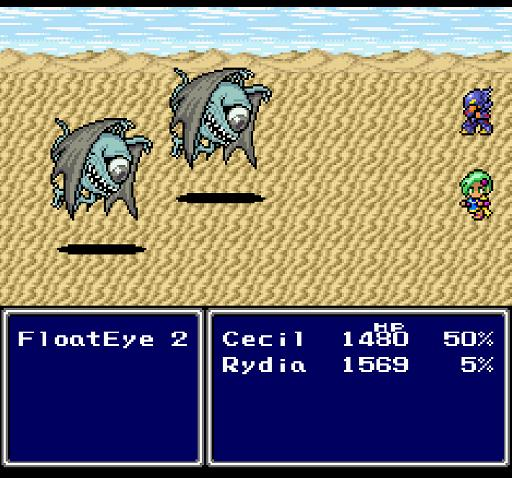 Final Fantasy IV User Options