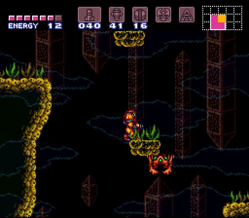 Super Metroid - Maridia / Norfair